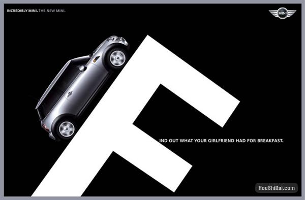 宝马Mini广告创意