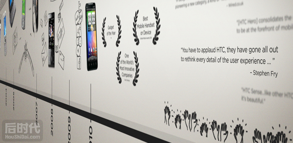 """A quietly brilliant story""HTC品牌故事"