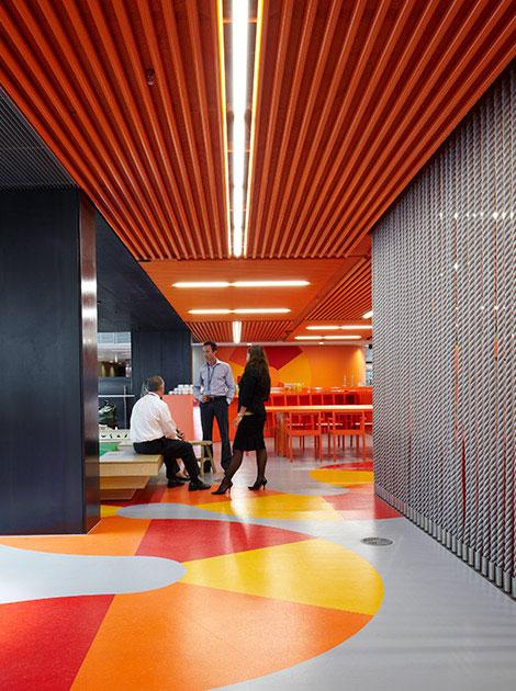 澳新银行中心环境设计