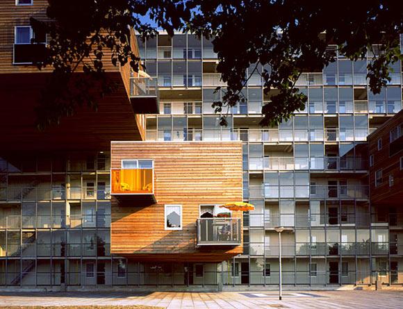 极具想象力的抽屉建筑