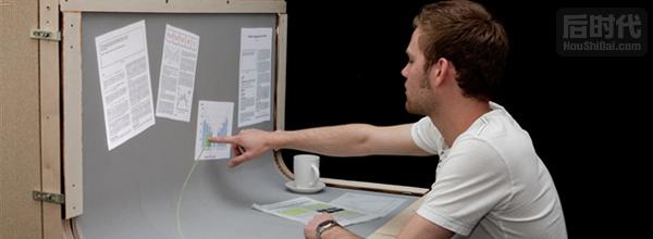 BendDesk弯曲桌面电脑