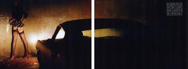 Kate Moss《Vogue》凯特-莫斯演绎后时代花样年华