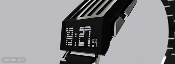 E-Ink Watch Concept 电子墨水屏的手表