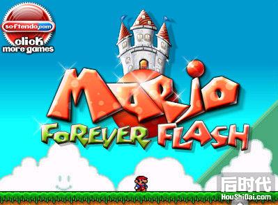 超级玛丽小游戏 Super Mario Flash
