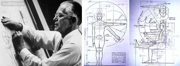 Henry Dreyfuss 亨利德雷夫斯与人机工程学