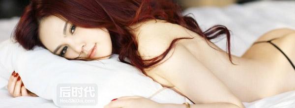 混血嫩模吴瑞娜最新性感写真