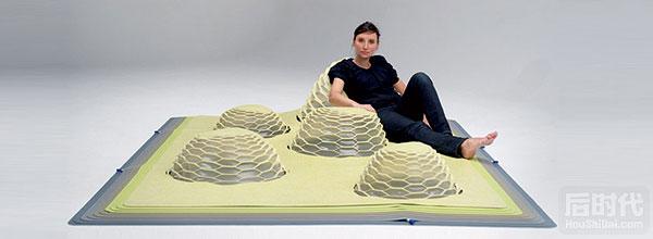 丘陵地毯创意设计