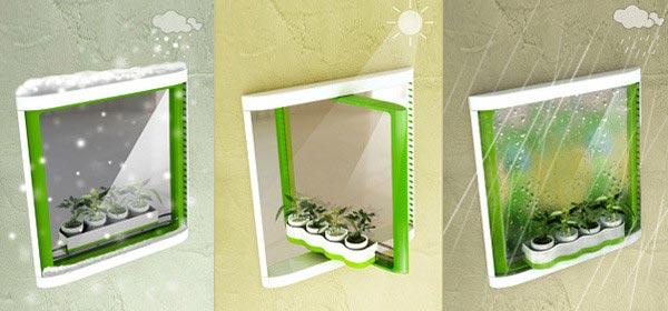 可旋转360度窗户概念设计