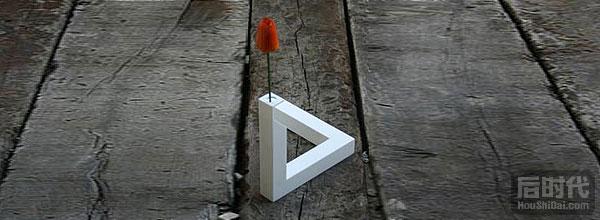 几何花瓶视错觉
