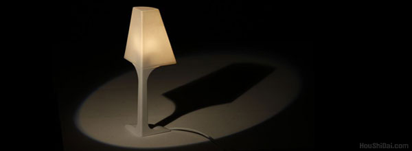 """""""墙角的1/4灯""""创意灯具设计"""