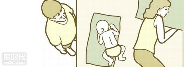 婴儿的销魂睡姿