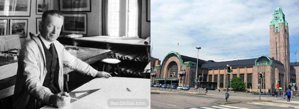 美国现代设计之父 Eliel Saarinen 伊利尔·沙里宁