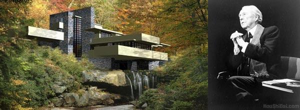 弗兰克·赖特 Frank Lloyd Wright与流水别墅