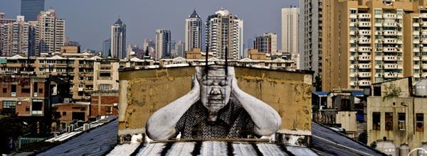 """TED JR街头涂鸦艺术家""""艺术改变世界"""""""