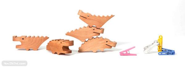 Nancy Fouts童趣木制玩具创意产品