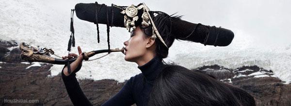Harper's Bazaar 西藏时装秀