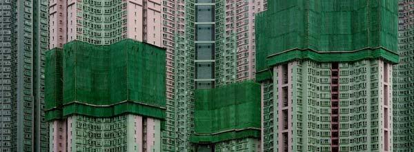 """香港蚁族实拍""""一个城市的密度"""""""