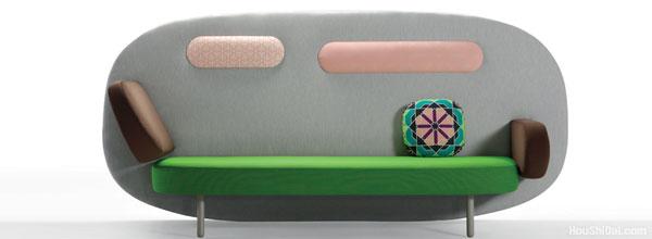 浮动沙发设计 float sofa design