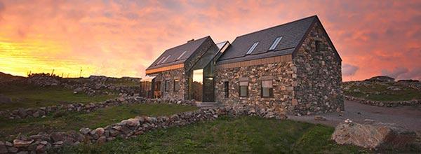 康尼马拉石屋自然空间设计