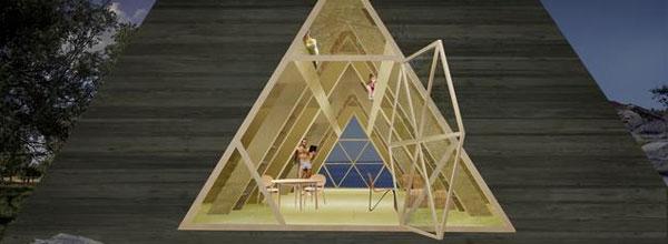 金字塔房屋设计