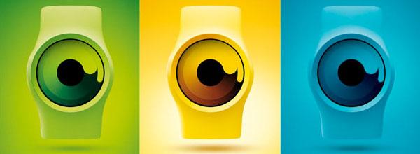 科技感十足的Zero概念手表