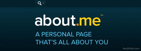 互联网入口About.me个人主页