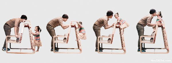 亲子攀爬椅Abooba Climbing Chair