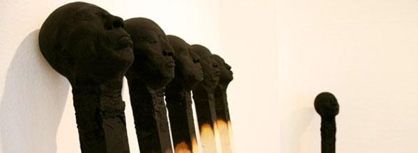 巨型火柴雕塑艺术