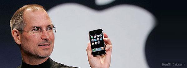 历届iPhone发布会乔布斯视频