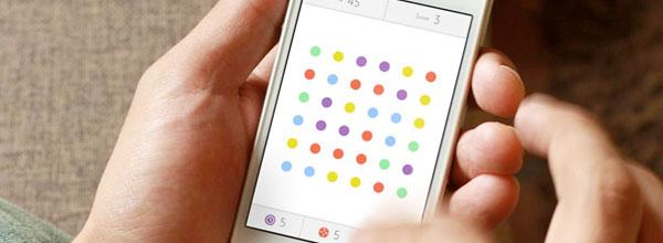 波普iPhone小游戏Dots爆红的背后