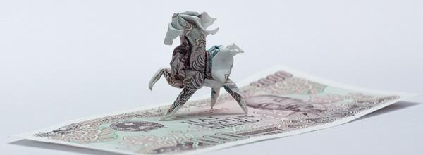 动物折纸艺术创意