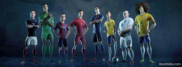 """耐克世界杯足球广告""""搏上一切"""""""