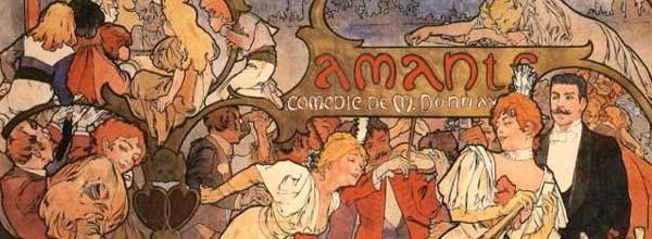 Alphonse Mucha 慕夏与新艺术运动