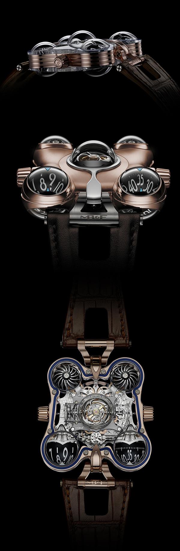 MB&F HM6 太空腕表
