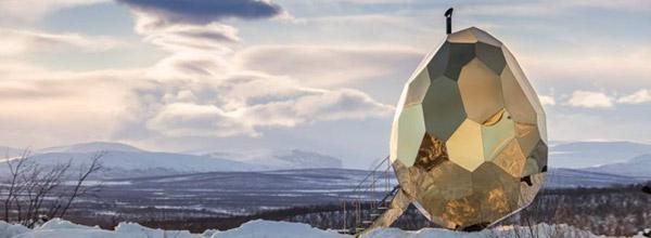 瑞典太阳能桑拿'金蛋'
