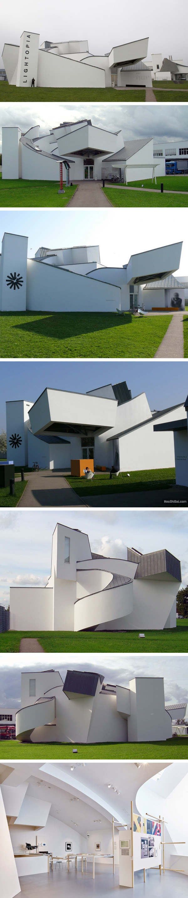 弗兰克盖里 Frank Gehry 与解构主义