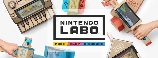 Nintendo Labo 任天堂重新定义游戏机新玩法