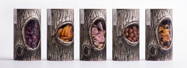 坚果Pchak品牌包装设计