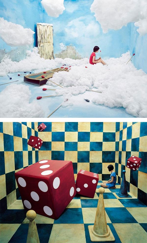 """艺术家的工作室如""""梦境""""般的空间"""